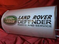 LAND ROVER, Serie, 4x4, difensore, Off Road, MANCAVE, Lightup Sign, garage, officina, 4
