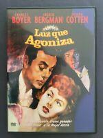 DVD LUZ QUE AGONIZA Charles Boyer Ingrid Bergman Joseph Cotten GEORGE CUKOR