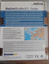 MAPSEND BLUENAV  XL3 XLG32X  MEDITERRANEE OUEST MAGELLAN  [SD Card]