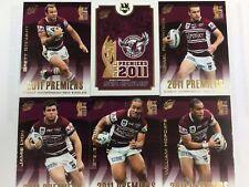 Select 2011 Manly NRL Premiership Commemorative Card Set (25)