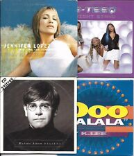 LOT 8 SINGLES VI backstreet boys/LOPEZ/ELTON JOHN/ELLIS BEXTOR/K.LEE/FABOLOUS