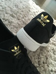 MENS BLACK ADIDAS MUNCHEN UK 7 GREAT USED CONDITION!!!