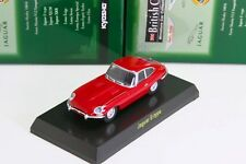 Kyosho 1/64 Jaguar E-type Red British Miniature car Collection 2006 JP Limited