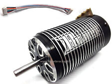 MOTORE ROCKET BRUSHLESS SENSORED 4268 1550KV SENSORI ø 5.0mm RC SCALA 1/8 HIMOTO