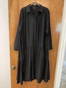 NWoTs COS Oversized Black Dress, Sz M!