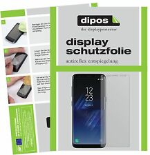2x Samsung Galaxy S8 Protector de Pantalla protectores mate dipos
