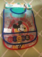 Disney Baby Mickey Mouse Crumb Catcher Bib.