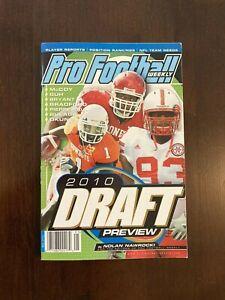 Pro Football Weekly 2010 Draft Preview by Nolan Nawrocki