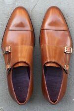 Carimin x Epaulet Salinger Alden Double Monks Whiskey Shell Cordovan Shoes