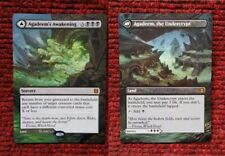 Agadeem's Awakening ,the Undercrypt MTG Magic Zendikar Hand Painted Altered Art