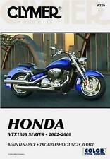 NEW CLYMER HONDA VTX1800 SERIES 2002-2008 *MAINTENANCE *TROUBLESHOOTING *REPAIR