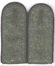 German Army Pioneer Shoulder Boards Green Underlay