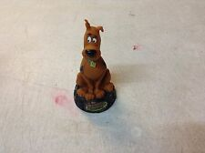 Scooby Doo Stage Fright Statue Bobblehead On Pedestal With Box Clear Channel TB1