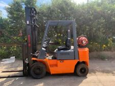 More details for  toyota 2.3 ton gas forklift