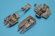 Aires 1/48 Messerschmitt Me410A cockpit set e gun bay per Monogram KIT 4159