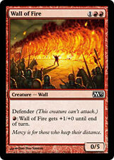 4x 4 x Wall of Fire x4 MTG M13 Core Set MINT PACK FRESH UNPLAYED 2013