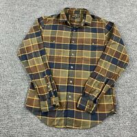 J Crew Mercantile Adult Small Plaid Long Sleeve Button Up Shirt Front Pockets