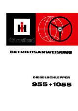 Betriebsanleitung Bedienungsanleitung IHC 955 + 1055