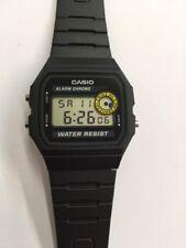 NEW Casio F94WA-8D Black Resin Digital Men's RETRO Watch Alarm Stopwatch Vintage