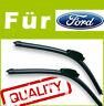 2 Scheibenwischer Wischerblätter Spezifisch für Ford FIESTA 6 2008-2011 mk6
