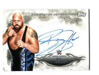 WWE Big Show 2015 Topps Undisputed Authentic On Card Autograph