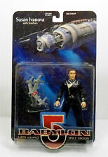 Babylon 5 Susan Ivanova Action Figure w/ Starfury Exclusive Premiere 1997 Mint