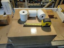 """50) Rolls, 3-1/8"""" x 273', White. Thermal Pos & Credit Card Receipt Paper.*Cheap"""