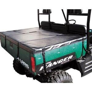 Pro Armor Black Rear Bed Tonneau Cargo Cover Yamaha Rhino 450 660 700 All Years