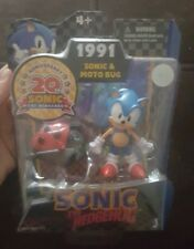 20th Anniversary Sonic & Moto Bug Collectible figures (1991)