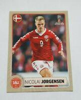 Panini WM 2018 M7 Nicolai Jörgensen Dänemark Denmark McDonalds World Cup 18