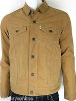 Levi's Trucker Shell Jacket Wax Treated Light Weight Jacket Levis Strauss & Co