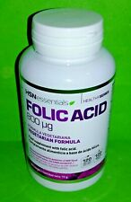 Acido Folico 800mcg 120 capsulas HSN ESSENTIALS