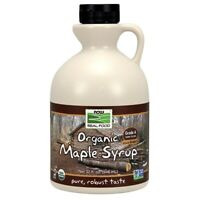 Now Foods Maple Syrup Grade A Dark (Prev Grade B) 32 oz FREE SHIPPING