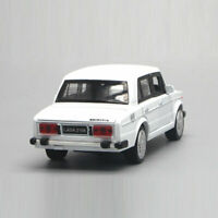 VAZ Lada 2106 1:32 Scale Model Car Metal Diecast Toy Vehicle Kids Gift White