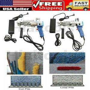 Electric Carpet Hand Tufting Gun Cut Pile or Loop Pile Weaving Flocking Machines