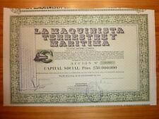ESP: La Maquinista Terrestre y Maritima, Barcelona, 1954, BAHN*
