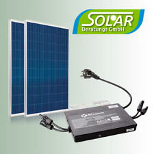570 Watt Haus-Solaranlage Balkonkraftwerk Solarmodul Modulwechselrichter