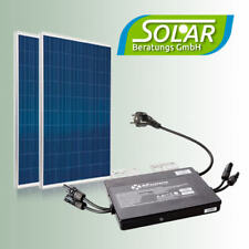 Balkonanlage 570 Watt Solaranlage Solarmodule Camping Photovoltaik