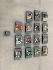Nintendo 64 Donkey Super Smash Bro's Racing Mario Cart Wwf Football N64 game lot