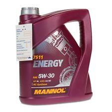 4 (1x4) Liter MANNOL SAE 5W-30 ENERGY Motoröl VW 502.00 / 505.00 / MB229.3