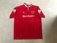 Manchester United Home Shirt 1992/1993/1994 Vintage Football Retro