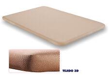 Base tapizada 80x200 tejido 3D. Fabricacion nacional. Calidad a precio de somier