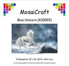 MosaiCraft Pixel Loisirs créatifs Mosaïque Kit 'Bleu Licorne' Pixelhobby