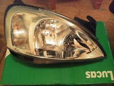 Vauxhall Corsa RH RHD headlight headlamp Lucas LWB422 2000-2003
