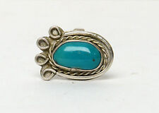 Silver Vintage Navajo Turquoise Ring Sterling