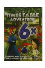 Times Table Adventure DVD - 6 Times Tables - Learn your Times Tables a Fun Way!