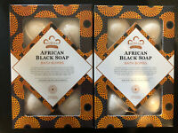 Nubian Heritage African Black Soap Bubble Bath Bomb 6 Pack X 2!