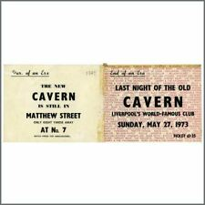 Cavern Club 1973 Invitation (UK)