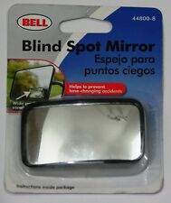 """Blind Spot Wide Angle Side View Mirror 3"""" X 1.5"""" Stick-on Wedge For Left & Right"""