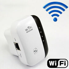 EU PLUG 300M WIRELESS WI-FI REPEATER AP RANGE EXTENDER ROUTER #F SIGNAL BOOSTER
